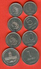 ARGENTINA 1 - 5 - 10 centavos  issue 1983 and 1 peso issue 1984 - UNC