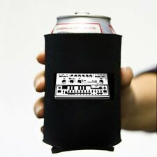 Roland Tb303 Bass Synthesizer Beer Soda Can Koozie Koolie Cooler Insulator Cozy