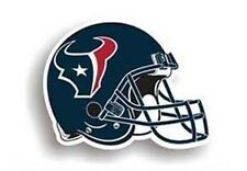 "Houston Texans Helmet 8"" Team Magnet NFL Football"