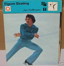 Jan Hoffmann patinaje artístico deporte de invierno Tarjeta de Coleccionista
