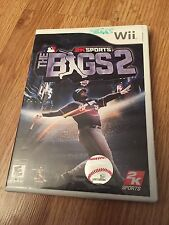 The Bigs 2 Nintendo Wii Cib Game Qth Manual Works W1