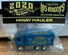 Hot Wheels 34th Convention Make-A-Wish Charity Car Blue / Teal Hiway Hauler RR