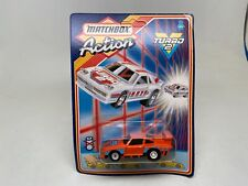RARE-MATCHBOX-ACTION TURBO2-RACING PORSCHE-PULLBACK-SEALED ON CARD-1987