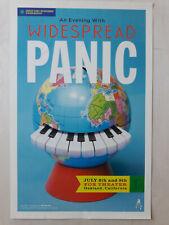 Original 1st Print Poster Widespread Panic Fox Theatre on July 8, 9, 2011 RARE