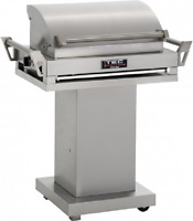 """TEC 36"""" G-Sport FR Natural Gas Grill On Stainless Steel Pedestal GSRNTFR + GSPED"""