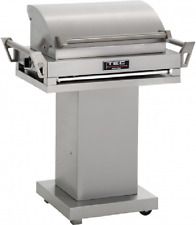 "TEC 36"" G-Sport FR Natural Gas Grill On Stainless Steel Pedestal GSRNTFR + GSPED"