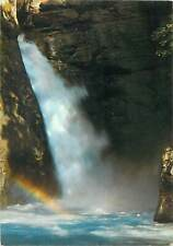 Postcard Switzerland lauterbrunnen trummelbach erster fall waterfall rainbow