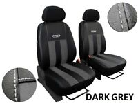 """ARTIFICIAL LEATHER /& ALICANTE /""""GT/"""" TAILORED SEAT COVERS PEUGEOT 107 2005-2014"""