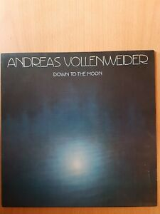 Andreas Vollenweider - Down To The Moon (1986 EU Pressing LP) Ambient/New Age VG