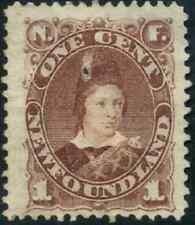 Newfoundland #41 mint F-VF part OG HHR 1880 Edward, Prince of Wales CV$65.00