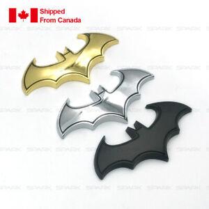 3D Metal Bat Batman car Logo Badge Emblem Decal Stickers