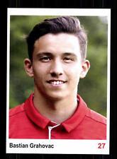 Bastian Grahovac Autogrammkarte Bayern München II 2016-17