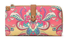 Desigual Grand Valkiria Ester Medium Wallet Coral