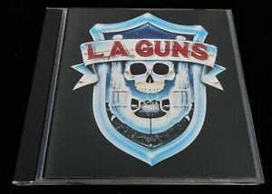 LA Guns: Self Titled Vertigo 834 144-2 CD USA Pressing Rock 1988