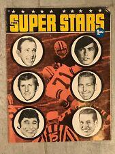 July 1971 The Super Stars-The Super Quarterbacks Mag-Namath, Tarkenton, Starr