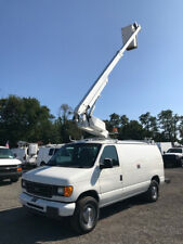 2006 Ford E-350 Used Bucket Van 34' Altec Boom Man Lift Triton Auto Fiber Truck