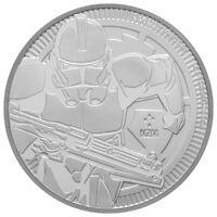 2019 Niue Star Wars Classic Clone Trooper 1 oz Silver $2 Coin GEM BU SKU56663