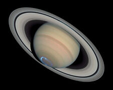 View from the NASA Hubble Space Telescope of the Planet Saturn 8x10 Photo