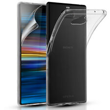 SONY EXPERIA 10 PREMIUM QUALITY GEL PHONE CASE COVER & FREE SCREEN PROTECTOR