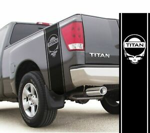 Fits Nissan Titan Skull Vinyl Stripes Rear Bed Racing Decals Off Road Stickers