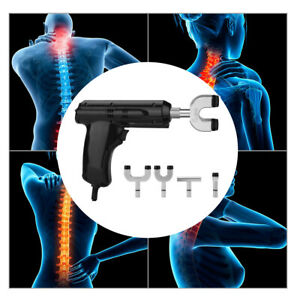 Professional Chiropractic Tools Electric Spine Back Adjusting Corrector Massager