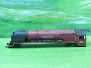 Hornby R066 Duchess of Sutherland 4-6-2 loco body only 6233 & screw - OO Gauge