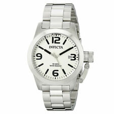 Invicta Men's Watch Corduba Silver Tone Dial Quartz Steel Bracelet 14826