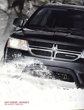 2011 Dodge Journey R/T Express Mainstreet Crew LUX  Dealer Sales Brochure