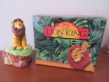 RARE Disney Schmid LION KING - SIMBA MUSIC BOX - CIRCLE OF LIFE - Boxed