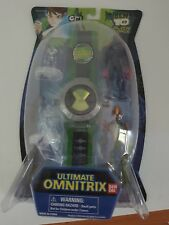 Ben 10 Alien Force Ultimate Omnitrix with figures  Swampfire rare ben10 Bandai