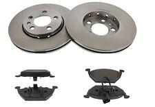 Kit 2 Dischi Freno 256mm + Pastiglie Anteriori Seat Ibiza V 1.2 1.4 1.6 1.9 TDI