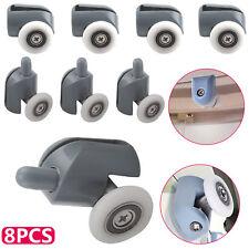 Set of 8 Shower Door Rollers/Runners/ Wheels 23mmx26mm in diameter MIX