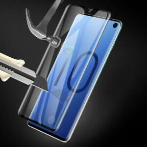 Samsung Galaxy S10  Tempered Glass Screen Protector Film 5D Curve