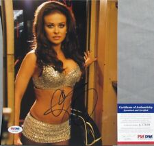 WOW! Carmen Electra PLAYBOY Signed SEXY BRA 8x10 Photo #3 PSA/DNA Sooo Hot!