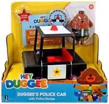 HEY DUGGEE - DUGGEE'S POLICE CAR WITH POLICE BADGE
