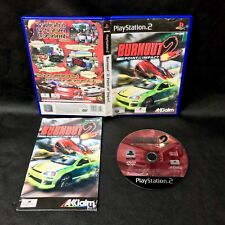 PS2 Burnout 2 Point of Impact Sony PlayStation 2 cars racing crash outrun police