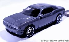 KEY CHAIN GRAY/SILVER GREY & TINTED WINDOWS NEW DODGE CHALLENGER LIMITED EDITION