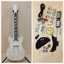 Full Size Left-Handed SG Electric guitar DIY KIT E-240DIY,No-Solder+Tuner,Picks