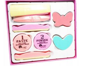 Japanese Manicure Lily Angel P Shine Nail Systems Big Set Kit Power Paste