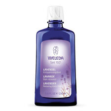 2 x 200ml Weleda Lavender Relaxing Bath Milk 400ml