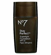 No7 Stay Perfect Superlight Foundation 30ml - Cool Beige