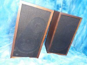 EPI M100 2 way vintage speakers for parts or repair