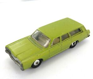 .VINTAGE MATCHBOX / LESNEY SERIES 55 or 73 LIME GREEN MERCURY DIECAST CAR.