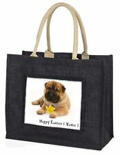 Personalised Name Shar-Pei Large Black Shopping Bag Christmas Pres, AD-SH2DA2BLB