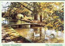 Gloucestershire: Lower Slaughter, The Cotswolds - Unposted c.1980's