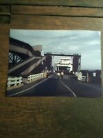 5 X 7 COLOR PRINT WINSLOW FERRY DOCK  WASHINGTON STATE FERRIES COLOR PRINT