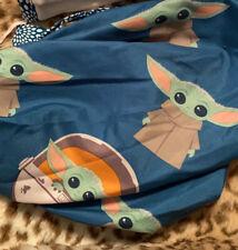 Baby Yoda Reversible Ponytail Scrub Cap