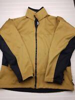 Columbia Titanium Men's Size Large Interchange Soft Shell Fleece Jacket Gold S17