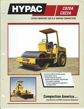Equipment Brochure - Hypac - C820A C822A - Vibratory Compactor - c1997 (E6365)