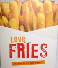 Love Fries COOKBOOK DIPS SAUCES POTATO SALSAS NEW FREE SHIP